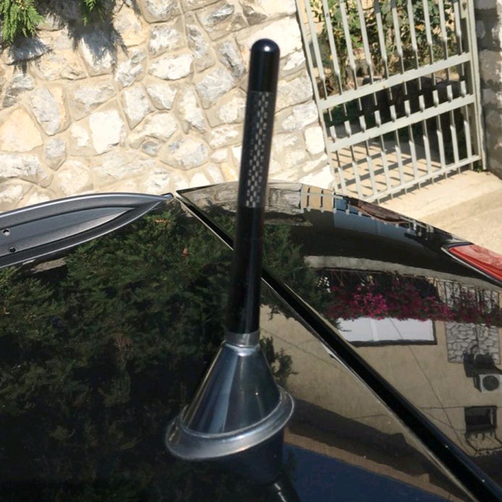 Metal Carbon Fiber Car Antenna Antena Mobil Spec Dan Daftar Harga Radio Flexible Universal 45cm 50cm Fm Fit For Ford Focus Mk2 Mk3 Fiesta Kuga