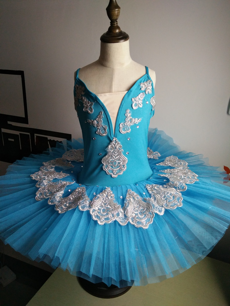 Girls Tutu Ballet Leotard Dance Dress Blue Ballerina Fairy Dance wear Costume & Girls Tutu Ballet Leotard Dance Dress Blue Ballerina Fairy Dance ...