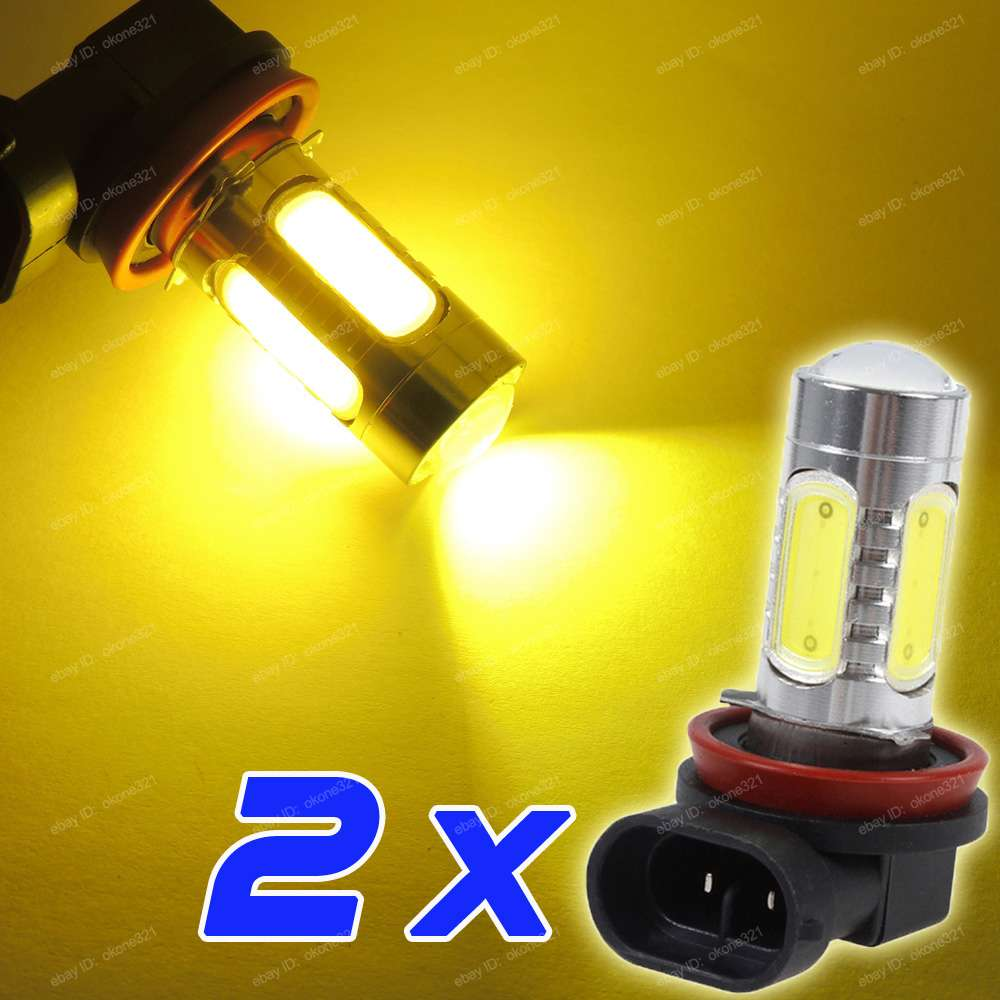 2 Pc High Power H8 H11 H9 Led Fog Light Driving Bulb