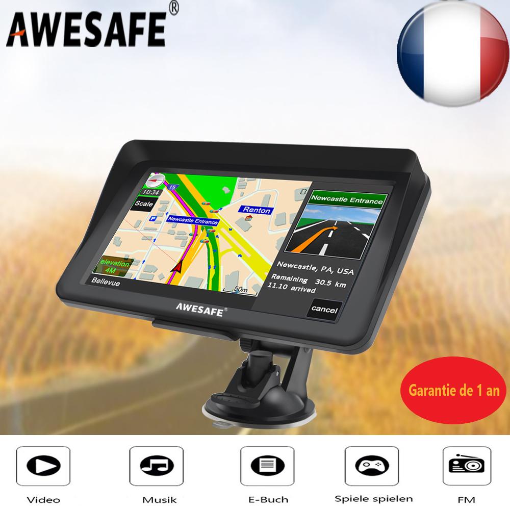 7 Zoll Navigationsgerät mit Rückfahrkamera PKW LKW Wohnmobil Bluetooth Radar