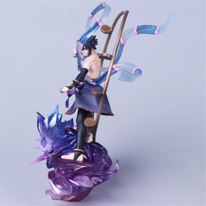 Anime-Naruto-Shippuden-Sasuke-Uzumaki-PVC-Action-Figure-Figurine-Toy-Gifts thumbnail 4