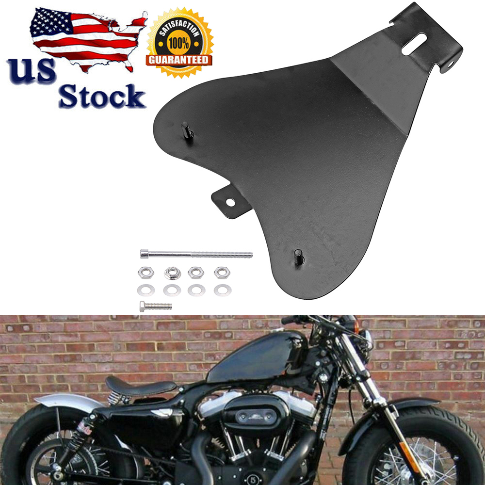 Motorcycle Solo Seat Baseplate Bracket For Harley Honda Sportster XL883//1200