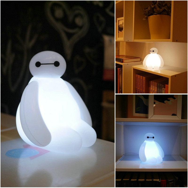 IN STOCK!Big Hero 6 Baymax USB LED Lamp Disney movie Figure Toy ...