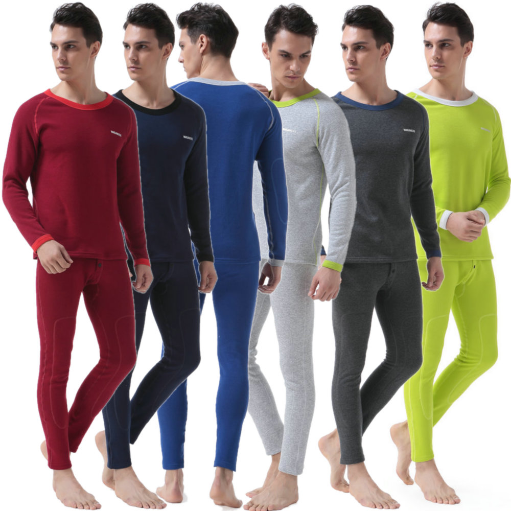 GA Communications Kids Thermal Winter Warm Underwear Full Set Long John Bottom and Long Sleeve TOP