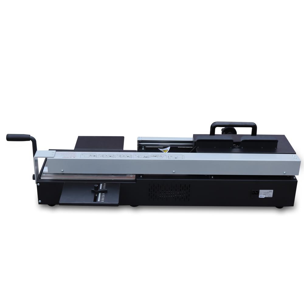 A4 Desktop Manual Hot Melt Glue Book Binding Machine For