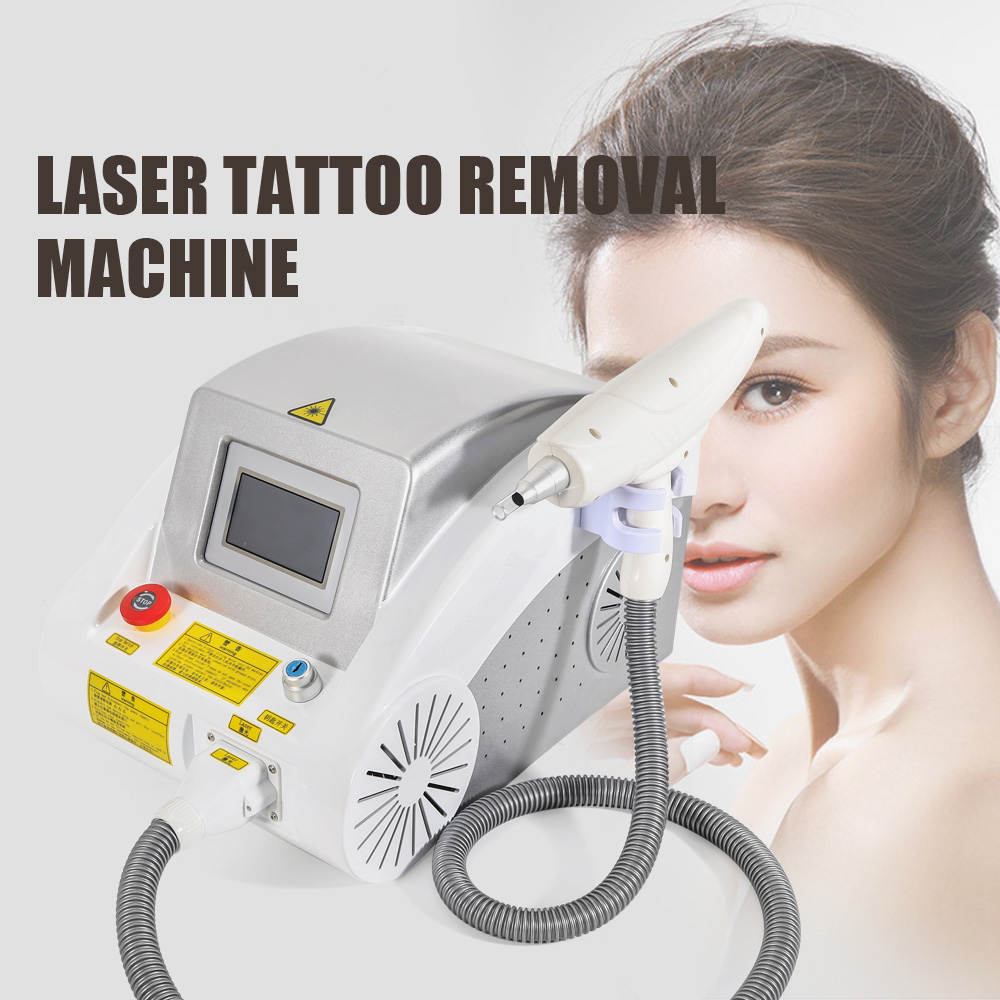 YAG Laser Tattoo Removal Machine Eyebrow Hair Tattoo ...