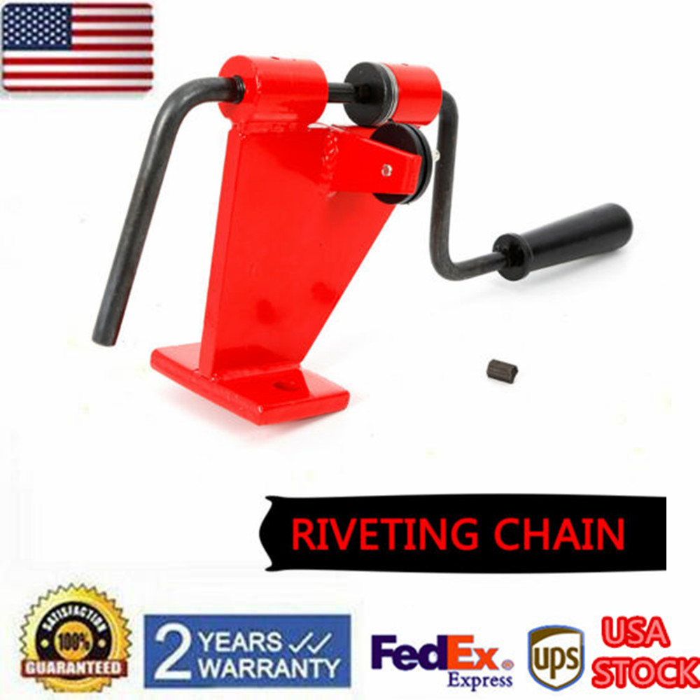 Chainsaw Saw Chain Spinner Rivet Loop Joiner Bench Model Tecomec