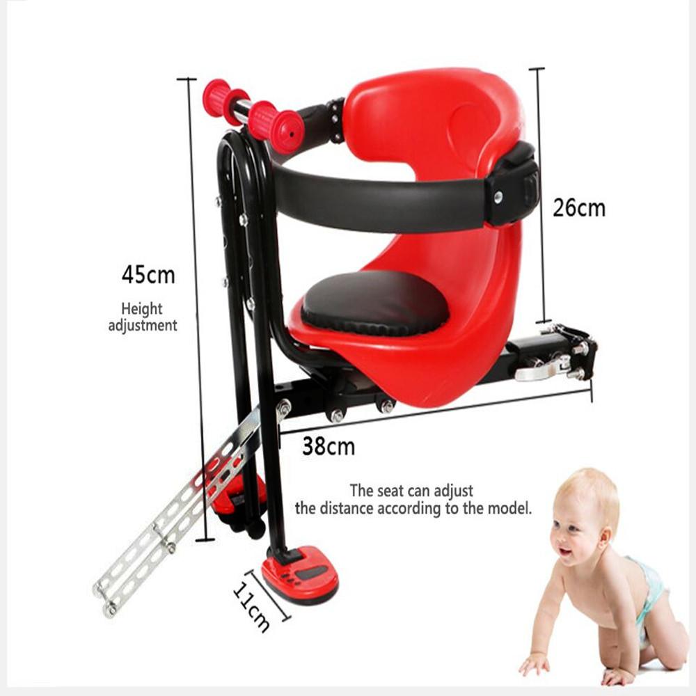 66lbs Fahrrad Sicherheit Vornesitz Fahrradsitz Sicherheitsitz Für Kinder 30kg