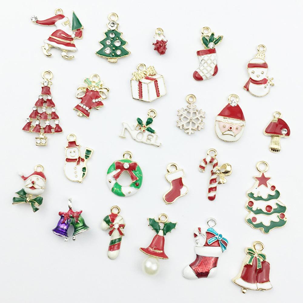 image is loading mixed christmas charms jewellery pendants decor set bow - Christmas Charms