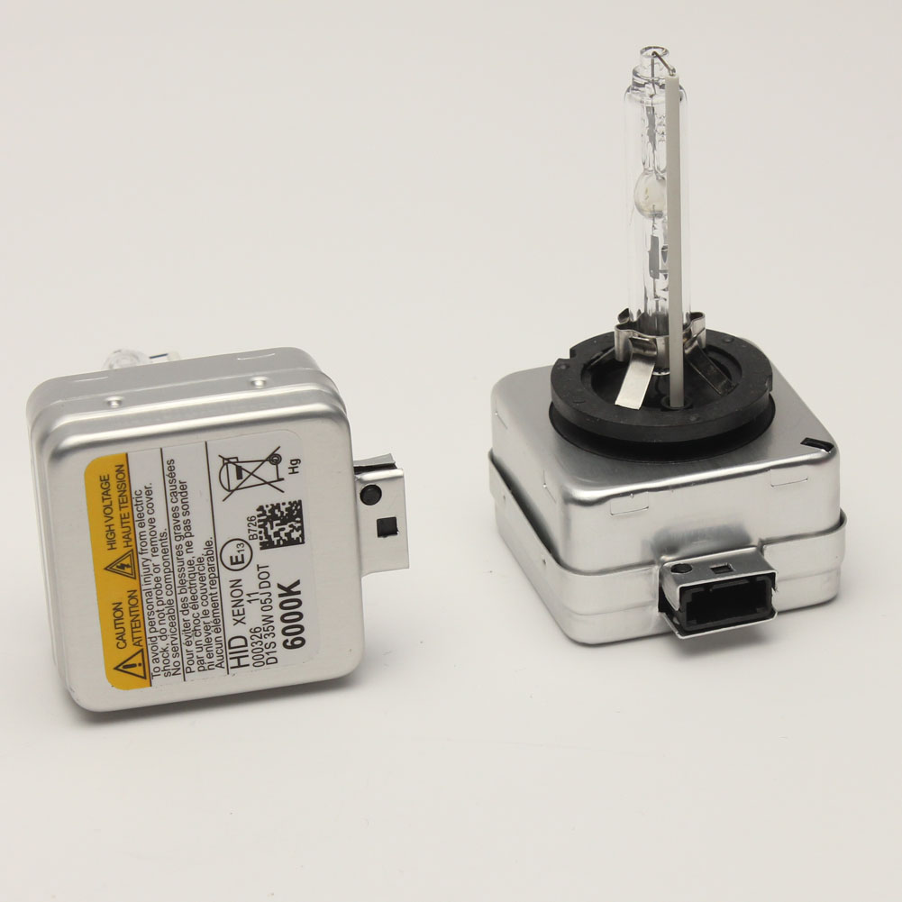 2x 6000K 35W D1SD1R HID Xenon Bulb headlight ligh lamp For Benz BMW Audi Porsche