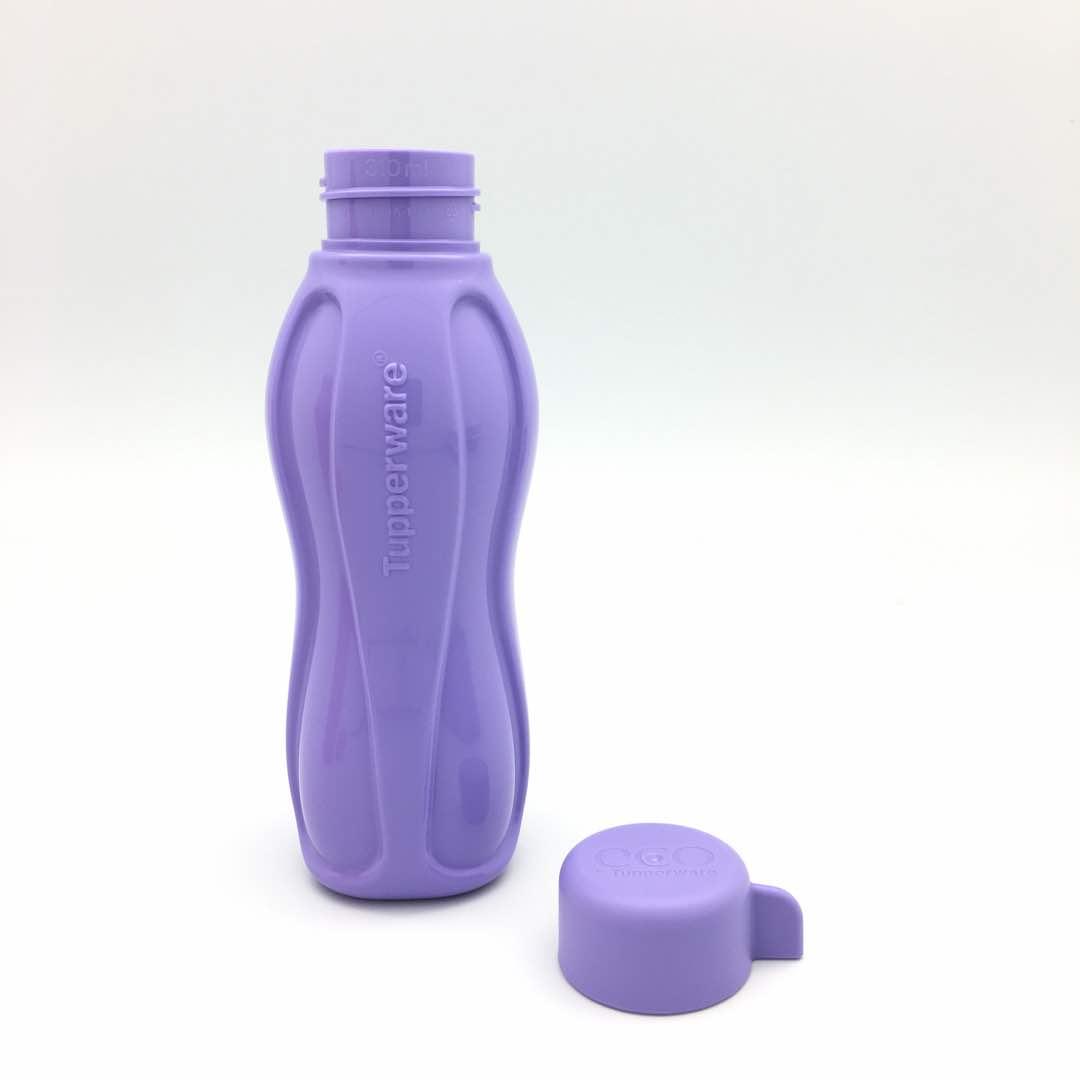 Tupperware-Neu-Eco-Easy-Trinkflasche-500ml-Blau-Rosa-Lila-Gruen