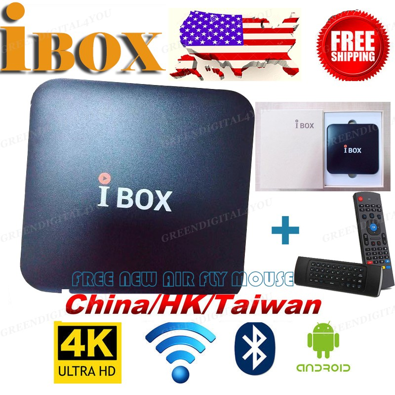 Details about 2019 IBOX Live TV Streaming Box Wifi 1080p H 265 China/HK  /TAIWAN HDTV FUNTV3 A3
