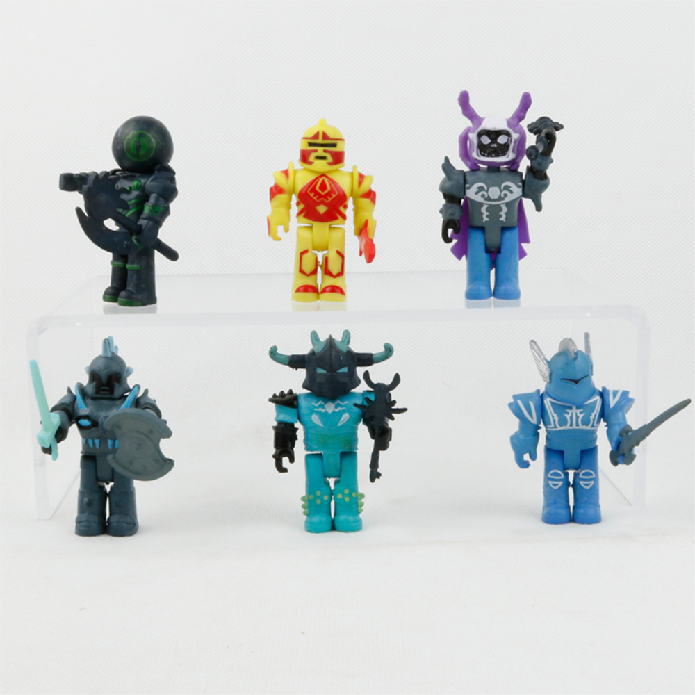 Roblox Toys Champions Of Roblox 6 Pcs Roblox Action Figures Toy Champions Game Series For Kids Bulk Pack Ebay
