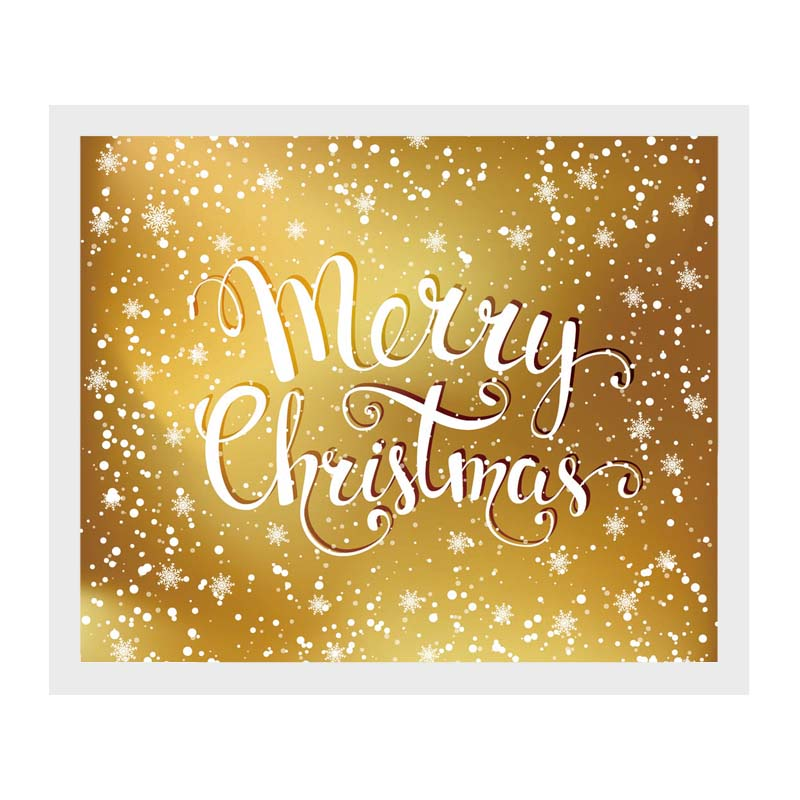 Merry Christmas Canvas Print Wall Painting Picture Art Unframed ...