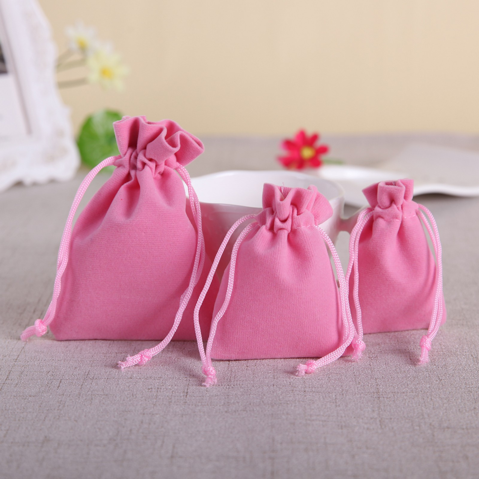 10/20/50 Velvet Bags Jewelry Wedding Party Favors Gifts Drawstring ...