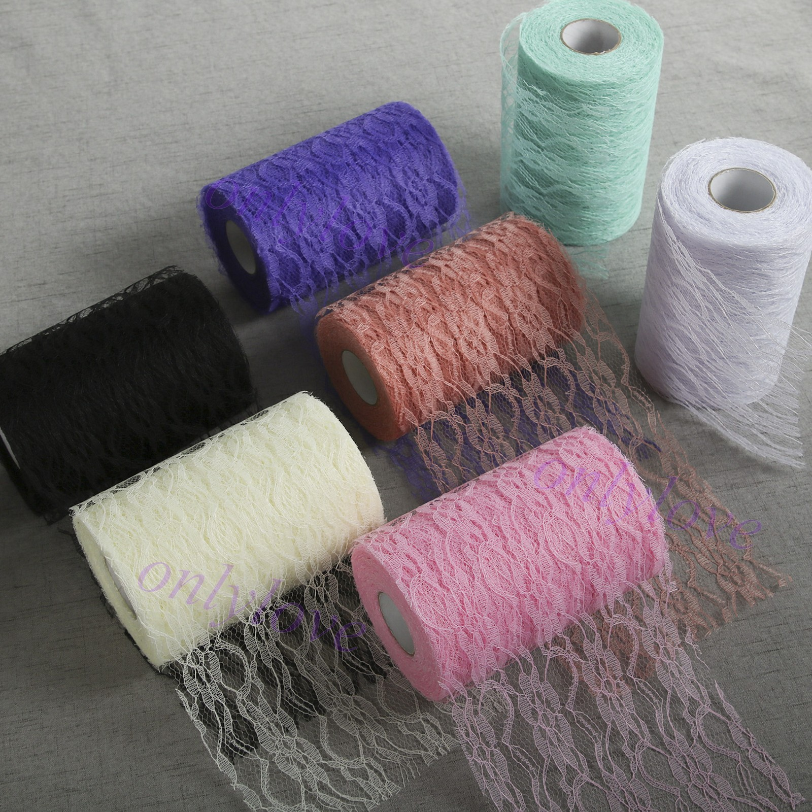 Lace Table Runner Roll 500 x 30cm Centre Piece Cloth Wedding Party Decoration