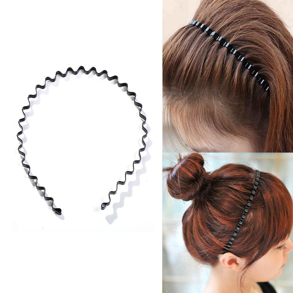 Wholesale Metal Alice Hairband Headband Men Women Sports Hair Band Metal Hoop UK