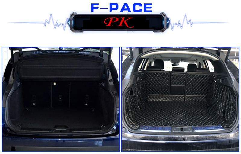 TRUNK CARGO FLOOR BOOT LINER TRAY PAD MAT for JAGUAR F-Pace 2017-2019 BRAND NEW