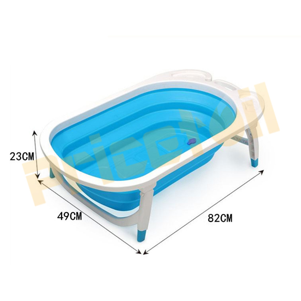 OZ-Baby-Infant-Newborn-Bath-Bathtub-Bathing-Folding-Safety-Foldable-Tub-Durable miniature 15