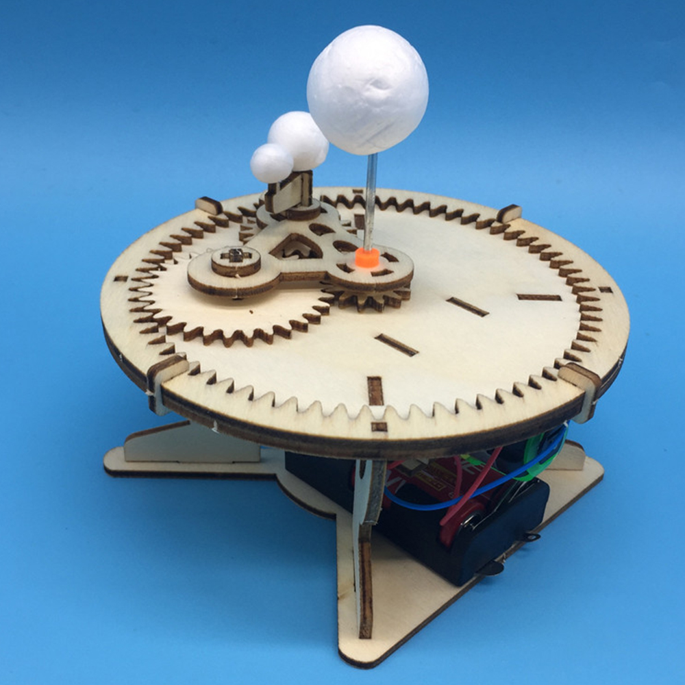 DIY Electric Sun Earth Moon Planet System Science Model ...