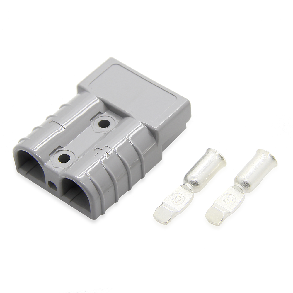 Double pole 50AMP Connector Set Cable Wire Quick Connect Battery ...