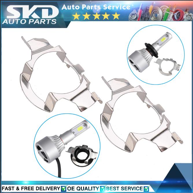 Mercedes-Benz Nissan LED EAGLE H7 LED Bulb Retainer//Holder//Adapter for For Audi VW BMW