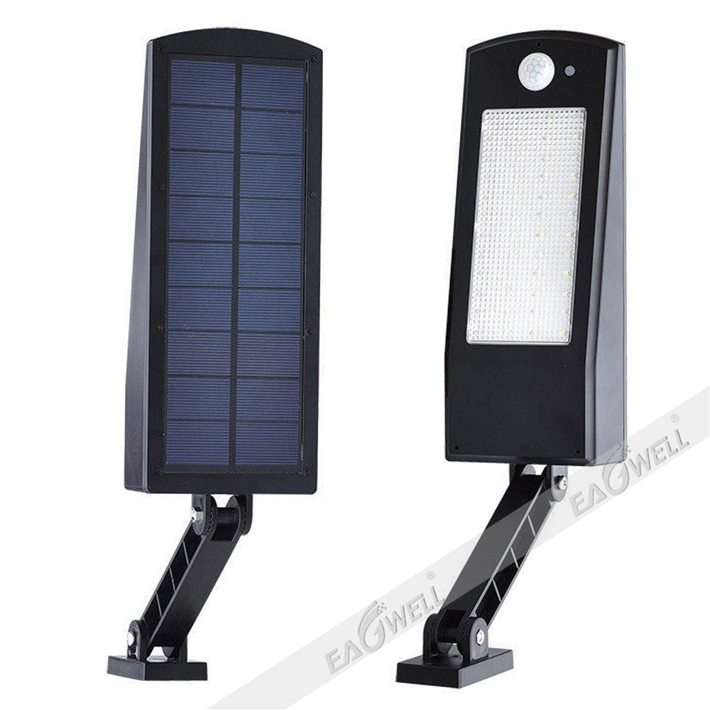 Solar Power 48led Dusk To Dawn Sensor Waterproof Outdoor