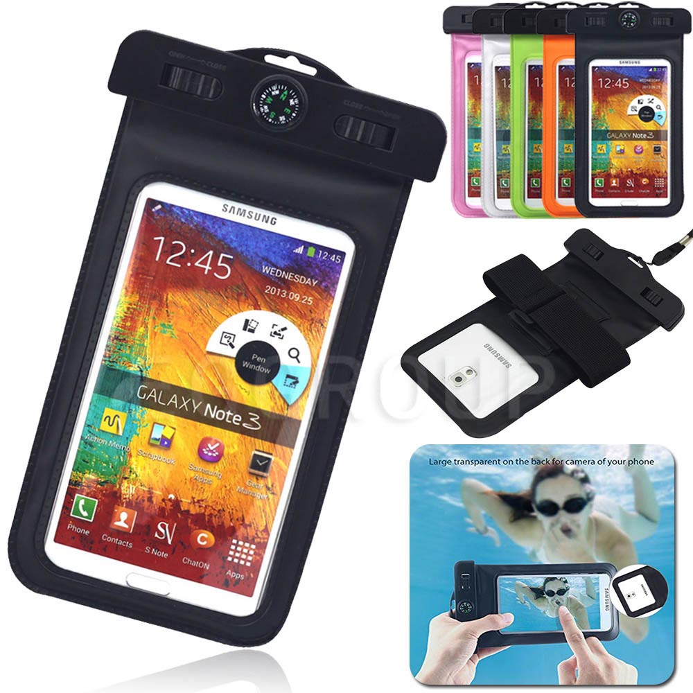 For Samsung Galaxy S9 Plus A8 2018 Waterproof Pouch Dry