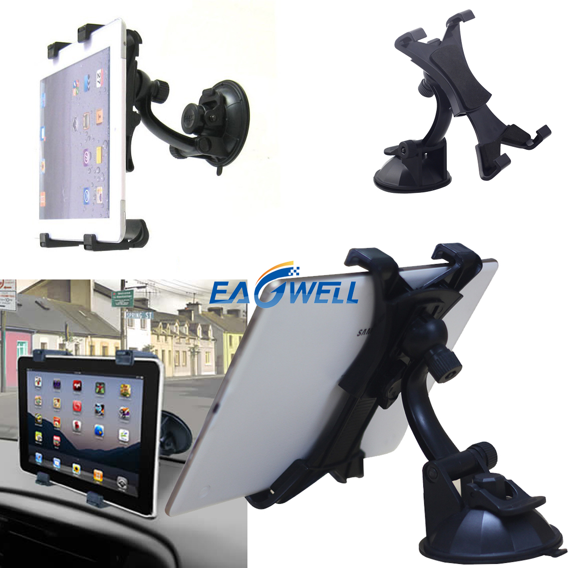 Details about 360° Car Suction Cup Mount Holder For RCA Voyager I,II,III  7 0 7