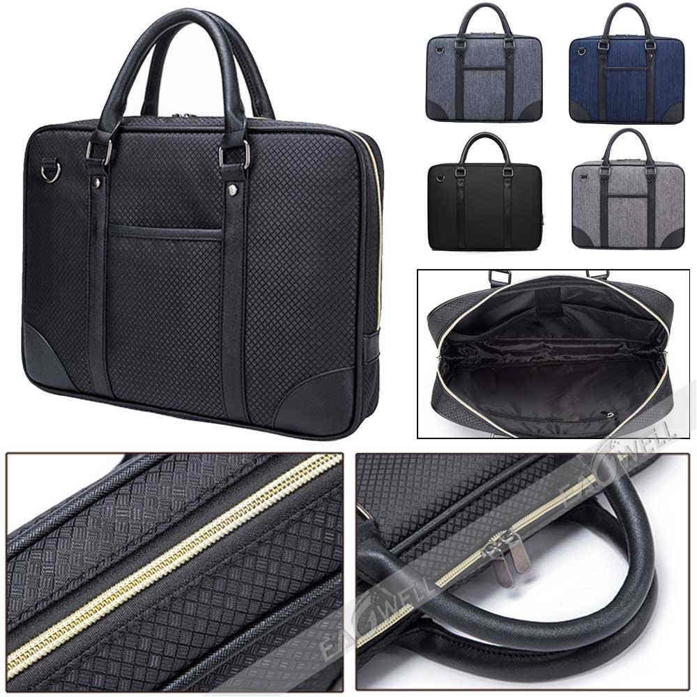 Vogue Men/'s Shoulder Large Capacity Bag Oxford Business Laptop Handbag Briefcase