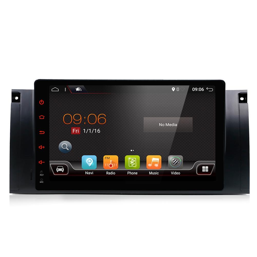 9 39 39 autoradio android 9 0 car gps stereo radio for bmw e38 e39 e53 x5 navigation ebay