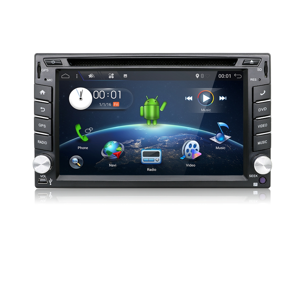 car dvd android 7 1 autoradio gps navigation doppel 2 din. Black Bedroom Furniture Sets. Home Design Ideas