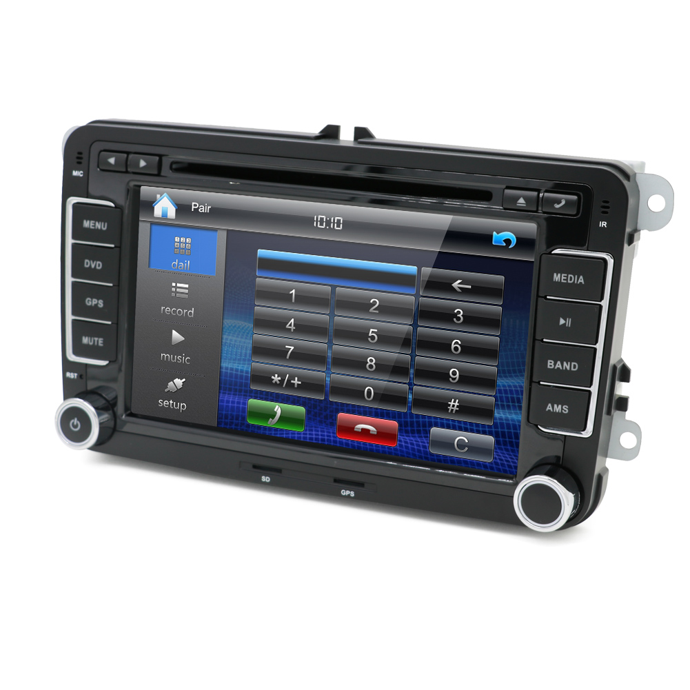 7 radio car dvd player stereo 2 din gps navi bluetooth. Black Bedroom Furniture Sets. Home Design Ideas