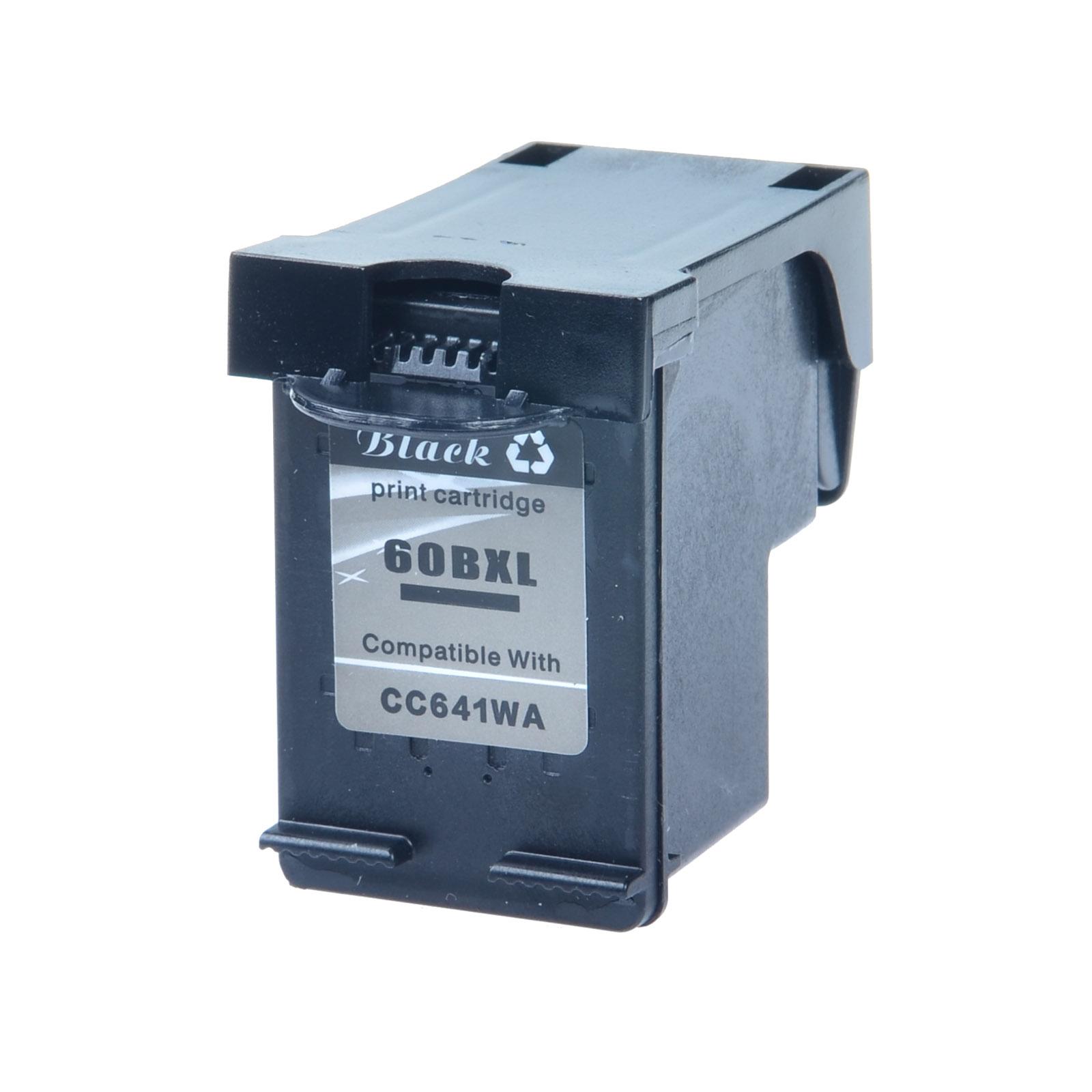 2 Color Ink Cartridge For HP 60XL Combo PhotoSmart C4780 C4783 C4795 3 Black