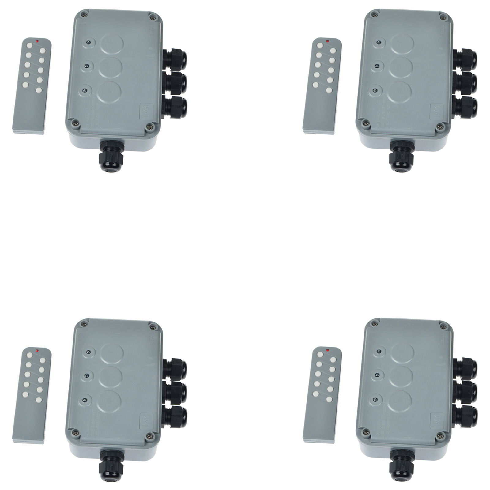 4 PK Weatherproof Exterior Outdoor Light Switch Garden 15 Amp IP66 3 ...