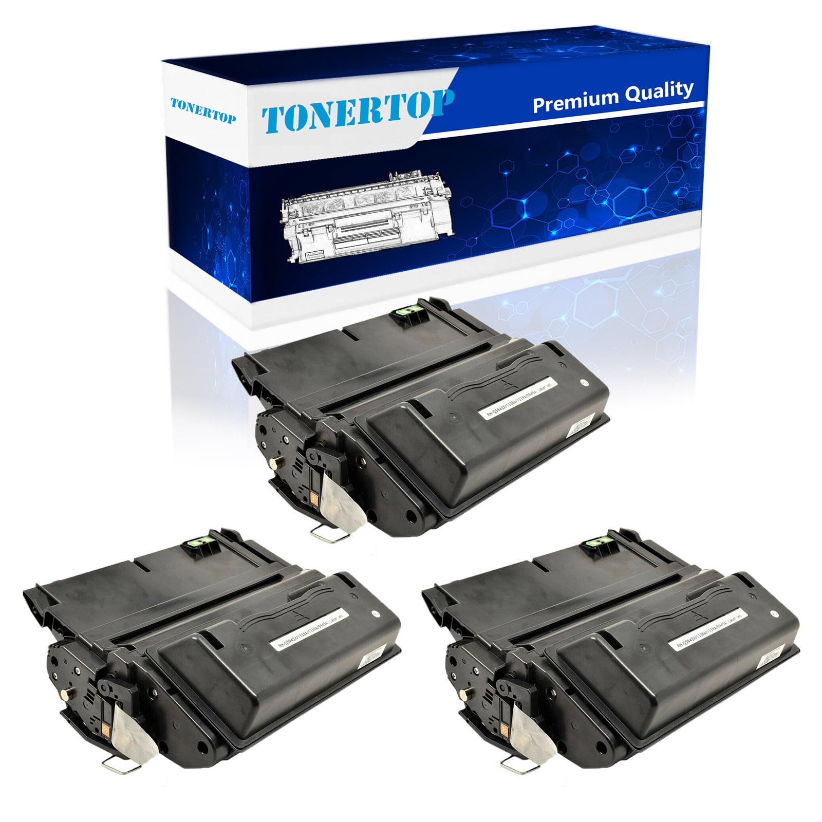 2 PK  Replacement For HP Q1338A Black Toner Cartridge Laserjet 4200dtnsl 4200tn