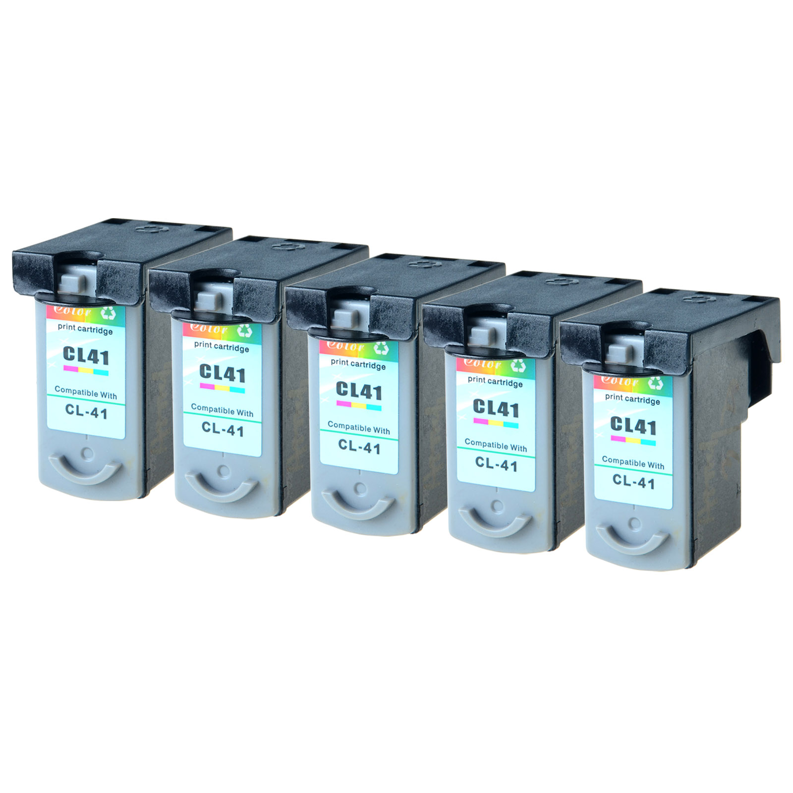 3 PK CL-41 CL41 Color Ink Cartridge for Canon PIXMA MP140 MP160 iP1600 Printers