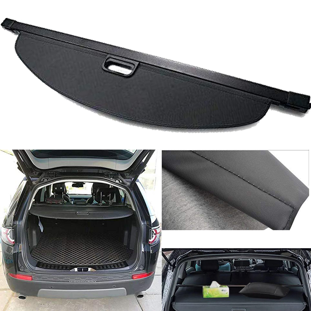Trunk Shade Rear Security Cargo Cover for Land Rover Discovery Sport 2015-2019