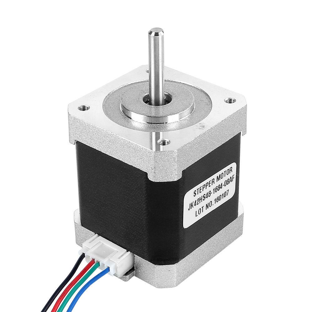 18 Degree 42mm Nema17 2 Phase 4 Wire Stepper Motor For 3d Printer Diagram Or Cnc 66