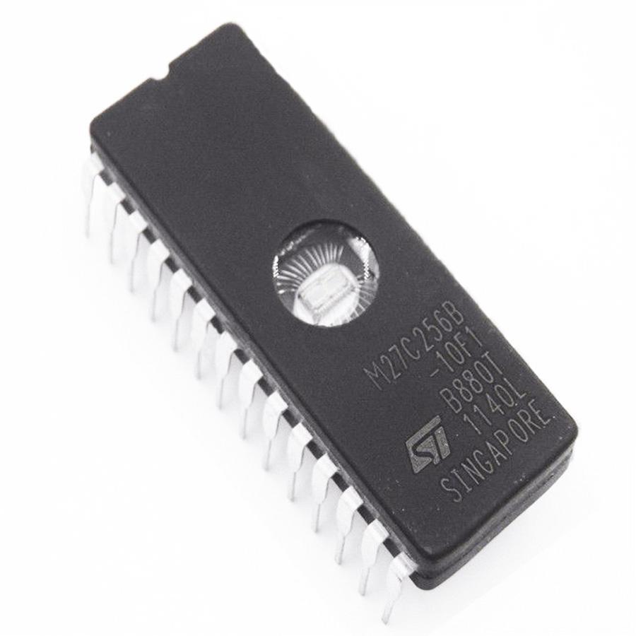 20PCS IC 27C256 CDIP-28 ST M27C256B-10F1