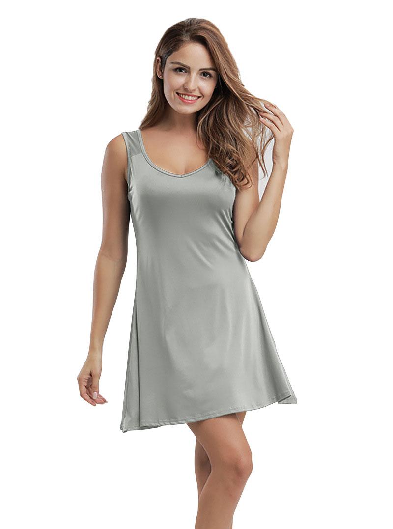 ae573f1ad395 Women Summer Party Evening Beach Short Mini Dress Ladies A Line Skater  Sundress