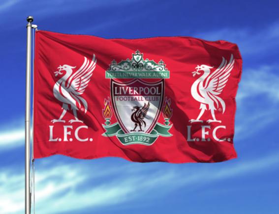 Bildresultat för liverpool flag