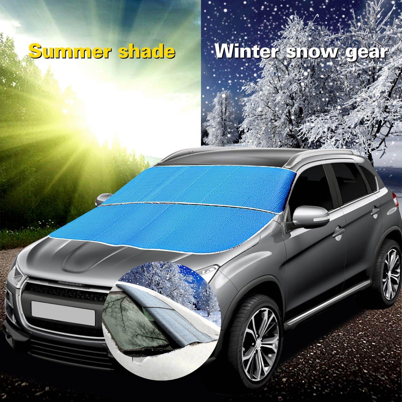 auto scheibenabdeckung windschutzscheibe frostschutz frost. Black Bedroom Furniture Sets. Home Design Ideas