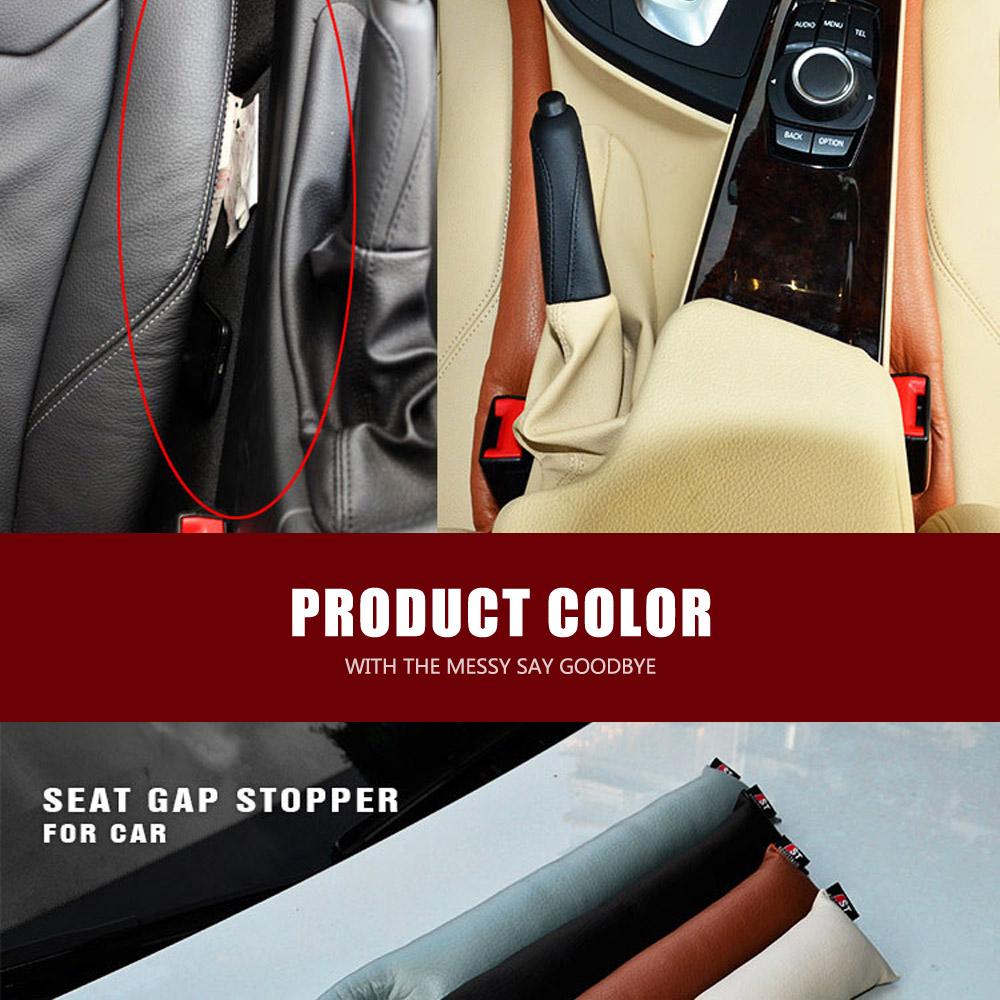 Almohadilla brecha de asiento de coche color blanco gap seggiolino auto pad