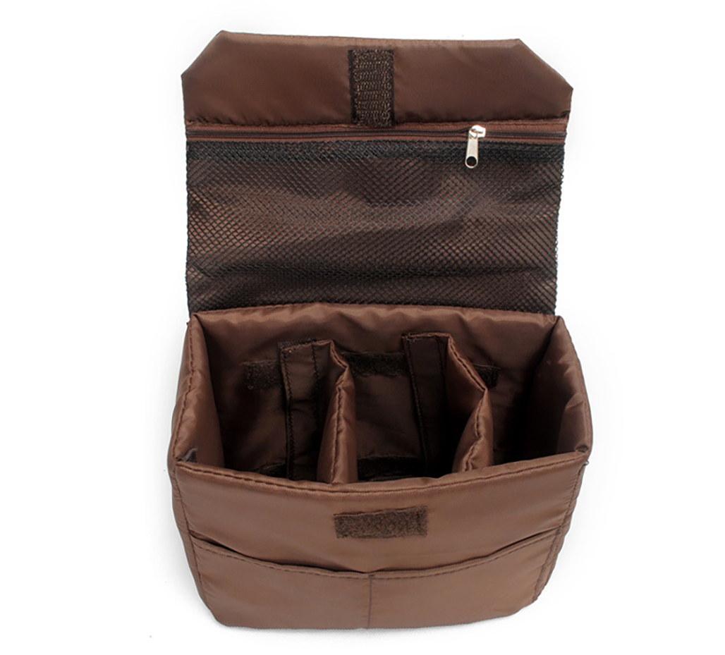 Padded DSLR Insert Case Laptop Sleeve Camera Bag Liner Inner Bag Soft Shockproof