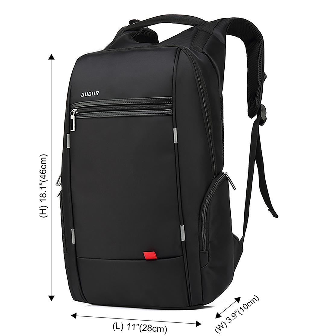 0b5c786369 Men s Travel Backpack USB Charging Port Nylon Business Daypack School Laptop  Bag