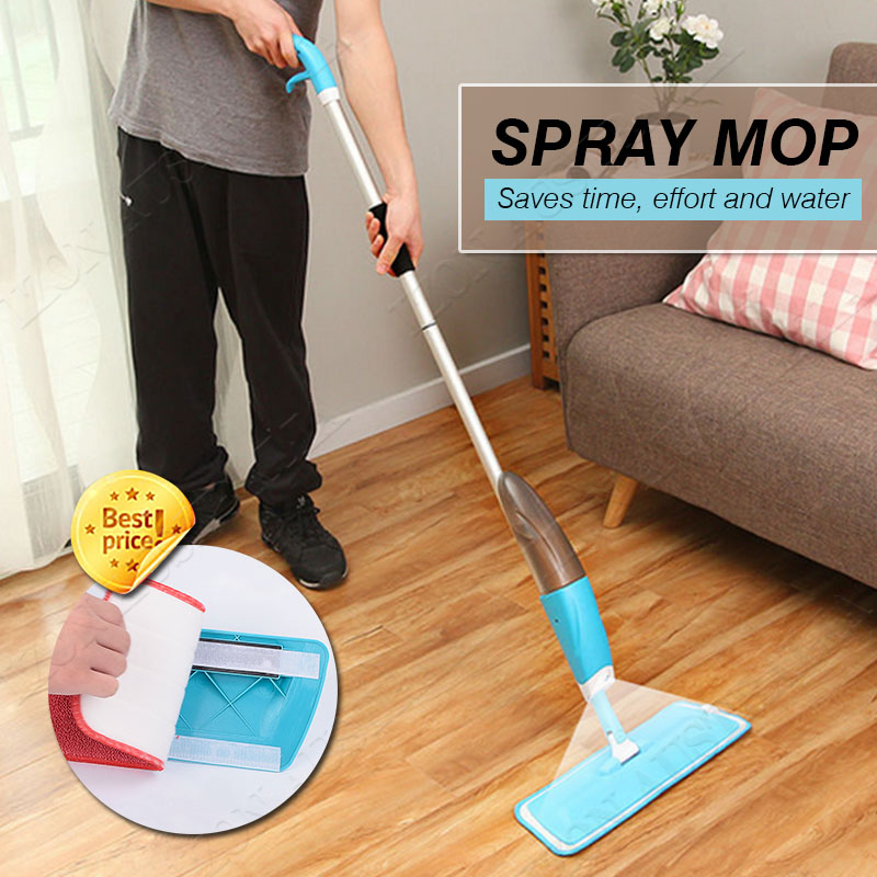 Description The Microfiber Spray Mop