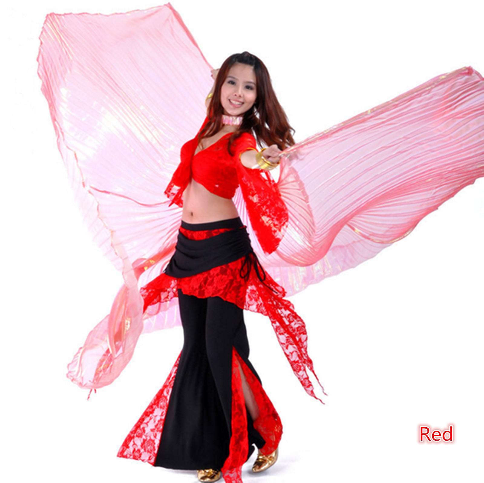 Как сделать крылья на восточный танец