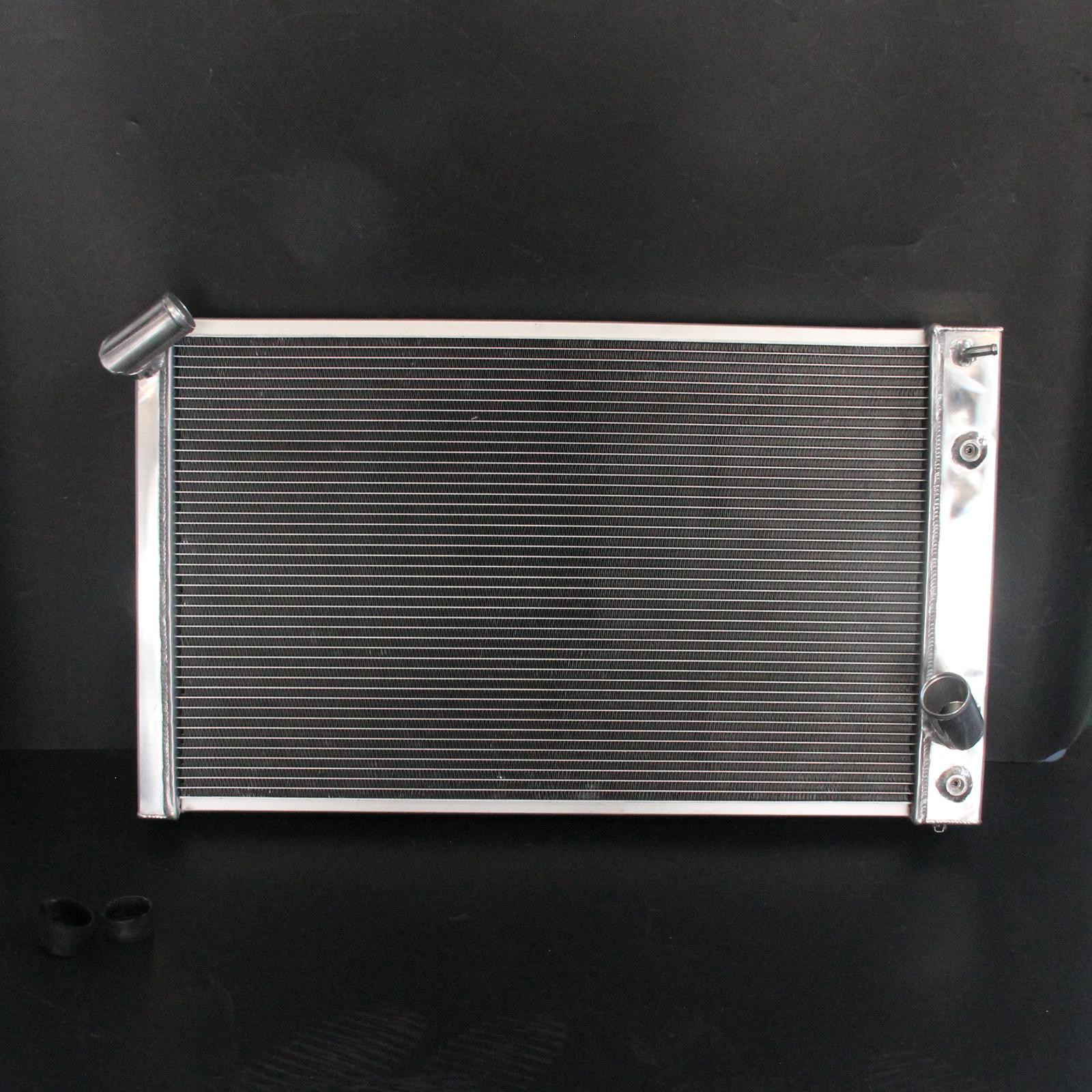 3-Row//Core Aluminum Radiator For Chevrolet Corvette Base V8 5.7L AT MT 69-72