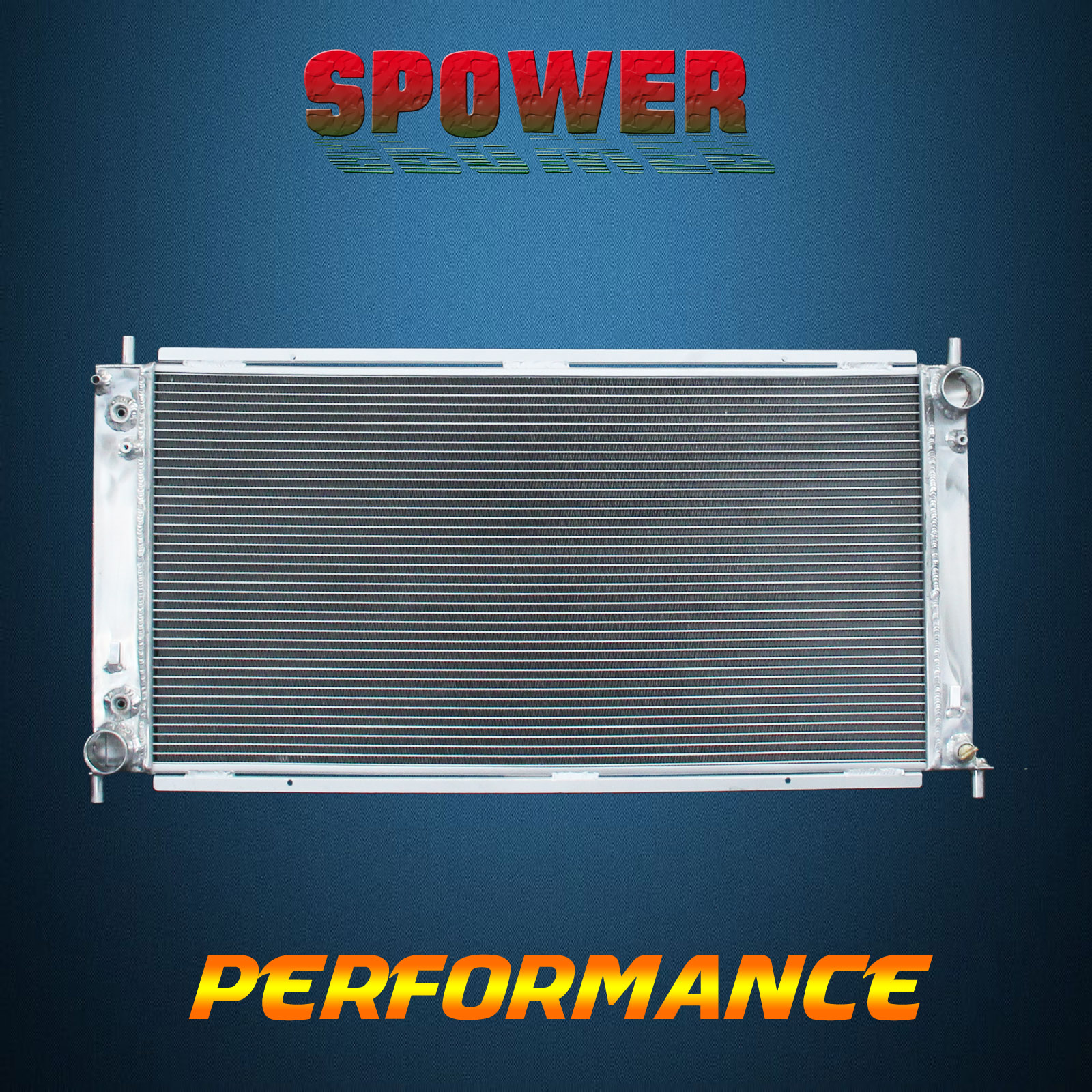 Aluminum Radiator For Ford F-150 Heritage Expedition Blackwood V8 99 ...